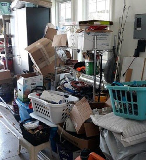 garage organization before 6