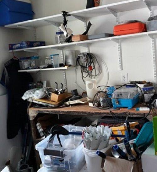 home organization before 3